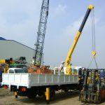 Cho thuê xe cẩu hàng nặng tại Hà Nội