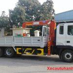 Thuê xe cẩu tự hành tại Phú Xuyên  giá rẻ, LH ngay: 0983 297 972