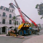 Dịch vụ cho thuê xe cẩu nâng người giá rẻ tại Hà Nội